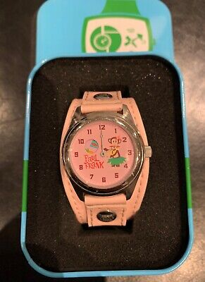 Girls Paul Frank Pink Watch With Tin. • 22£