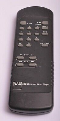NAD 502 CD Player Remote Control  • 24.95£