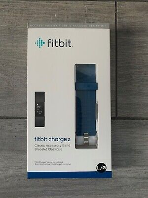 $ CDN6.30 • Buy Fitbit Charge 2 Accessory Band, Blue, Large