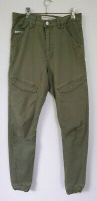 AU30 • Buy Nena & Pasadena Men's Green Jogger Jeans Size 30 In Excellent Preowned Condition