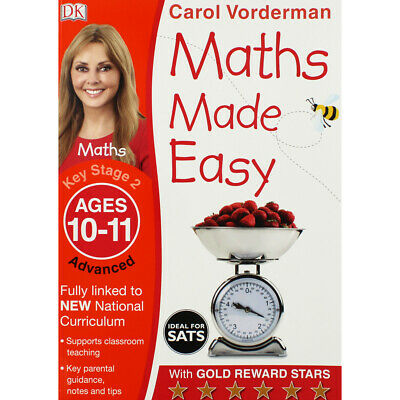 £5 • Buy Maths Made Easy Advanced: Ages 10-11 By Carol Vorderman (Paperback), Books, New