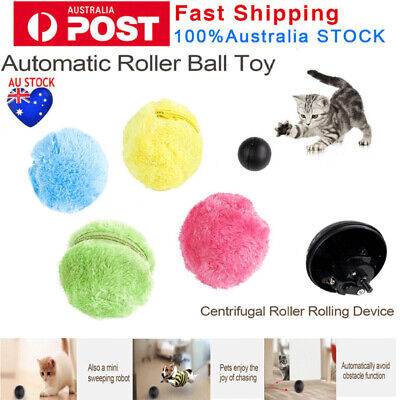 AU11.99 • Buy Magic Roller Ball Toy Automatic Pet Dog Cat Active Rolling Ball Electric Toys