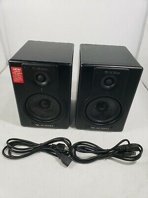 $179.99 • Buy M-Audio Studiophile BX5a Deluxe Studio Reference Monitor Speakers ●●TESTED●●