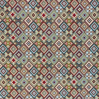 £6.30 • Buy Tapestry Fabric Mayan Upholstery Furnishings Curtains 140cm Wide