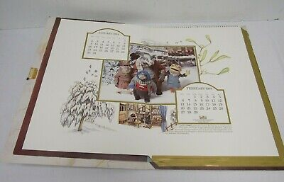 The Wind In The Willows Limited Edition Calendar Thames Television 1984- YEO S32 • 15£