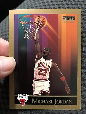 $5 • Buy MICHAEL JORDAN 1990 1991 Skybox NBA Basketball #41 Chicago Bulls Golfing Back