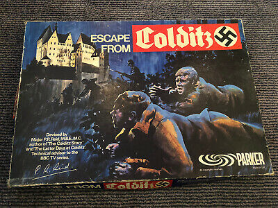 Parker Games 'Escape From Colditz' Circa Esrly 1970's • 30£