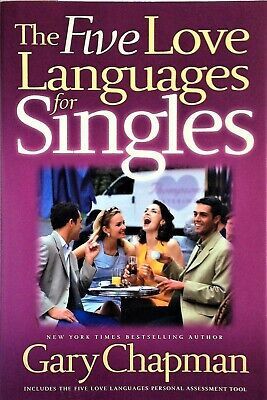 AU16 • Buy THE FIVE 5 LOVE LANGUAGES FOR SINGLES By Gary Chapman (2004) - LIKE NEW  - Book