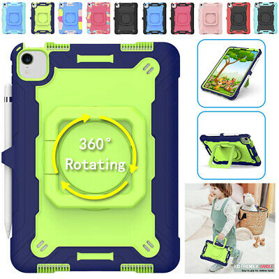 AU30.28 • Buy For IPad 10.2  7/8th Gen Air 4 3 Pro Shockproof Kids Heavy Duty Strap Case Cover
