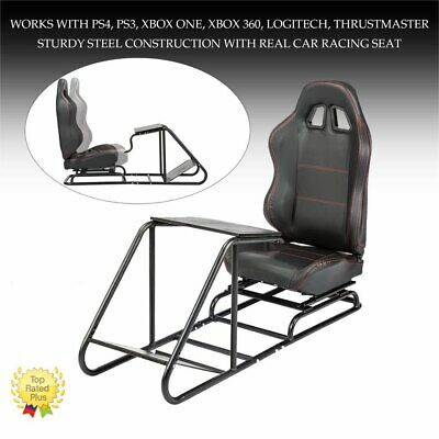 AU349.99 • Buy RS6 Racing Simulator Cockpit Gaming Chair W/Stand For Logitech G29/G920/PS3/PS4