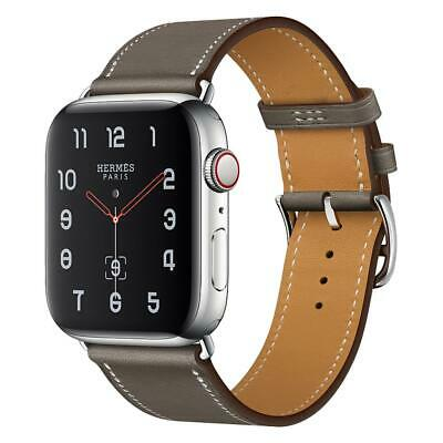 $ CDN6.35 • Buy High Quality Genuine Leather Apple Watch Band For IWatch 38mm/40mm 42mm/44mm