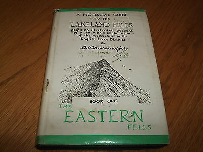 £299.99 • Buy Alfred Wainwright-the Eastern Fells-signed-8th Imp-early 60's-g-ultra Rare