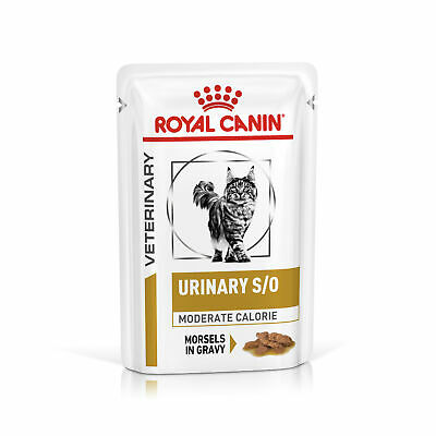 Royal Canin Feline Urinary S/O Moderate Calorie Cat Pouches - 48x85G • 45.16£