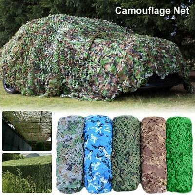Camouflage Netting Oxford Camo Net Camping Hide Army Hunting Fabric Woodland BOO • 11.59£