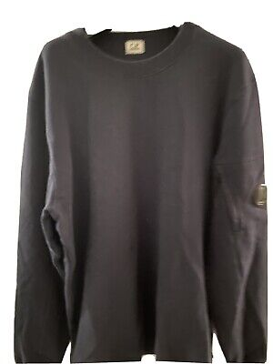 Mens Cp Company Sweatshirt Xl Dark Blue Great Condition • 45£