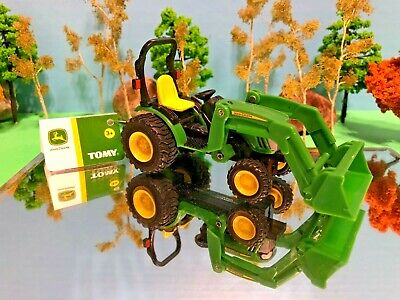 AU35.98 • Buy John Deere Tractor, Working Front End Loader, Diecast, ERTL, Farm Toy