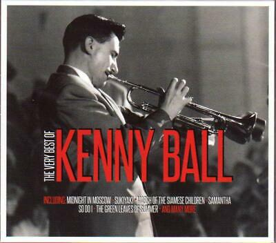 £4.69 • Buy KENNY BALL - THE VERY BEST OF (NEW SEALED 2CD) Digipak