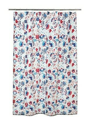 £4.99 • Buy Ikea KRATTEN Shower Curtain 180x180cm BRAND NEW FAST DELIVERY