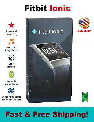 $ CDN145.33 • Buy NEW Fitbit IONIC Smart Watch Bluetooth GPS Activity Fitness Tracker S/L Charcoal