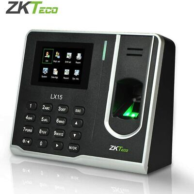 AU75 • Buy Fingerprint Attendance Machine Biometric Time Clock Employee Check-in Recorder