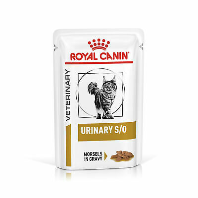 Royal Canin Feline Urinary S/O Morsels In Gravy Cat Pouches - 48x85G • 46.29£