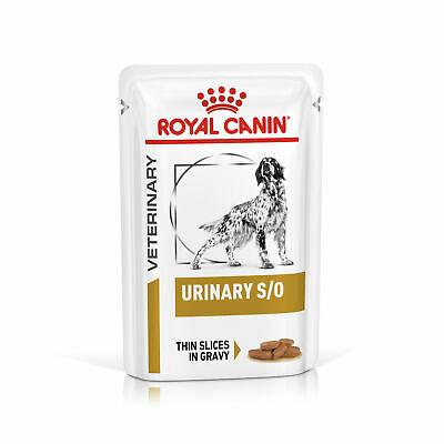 Royal Canin Canine Adult Urinary S/O Veterinary Diet Wet Dog Food Pouches In • 50.42£