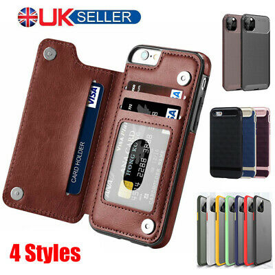 Case For IPhone 11 Pro Max Mini XR 7 8 Plus Shockproof Hard Back Phone Cover UK • 3.49£