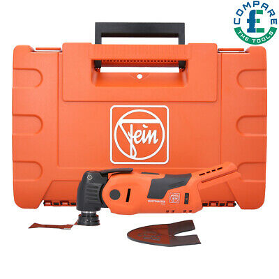 £202.95 • Buy Fein AMM700 Plus 18v Starlock Plus MultiMaster With Carry Case 71293462000