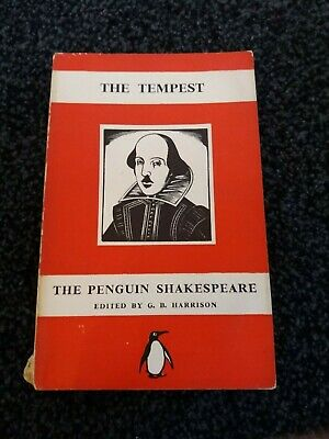 The Tempest By William Shakespeare Penguin 1937 • 5£