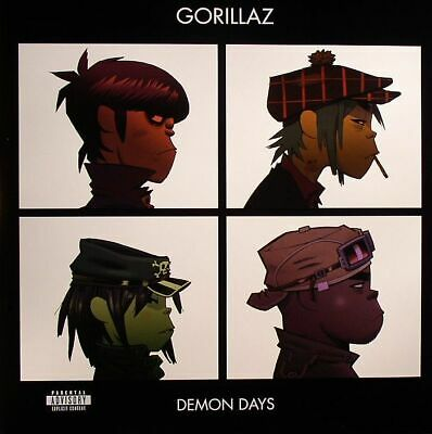 GORILLAZ - Demon Days - Vinyl (2xLP) • 28.59£