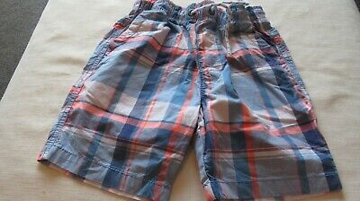 Boys Next Checked Cotton Shorts - Size 8 Years - Excellent Condition  • 3£