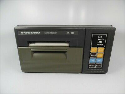 Furuno - NX-500 Navtex Receiver W/ Integral Printer - Power ON Test + Self-Test • 143.04£