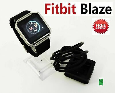 AU104.45 • Buy Fitbit Blaze Smart Watch Fitness Activity Tracker Black XL