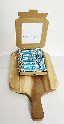 Bounty Chocolate Letterbox  Hamper Gift  Personalised Birthday Lockdown Coconut  • 7.99£