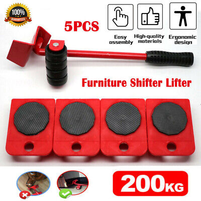 AU15.59 • Buy Heavy Furniture Moves Shifter Lifter Wheels Moving Kit Slider Mover Table Sofa