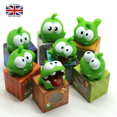 £3.85 • Buy 1Pcs Rope Frog Doll Cut The Rope OM NOM Candy Gulping Monster Toy BB Noise
