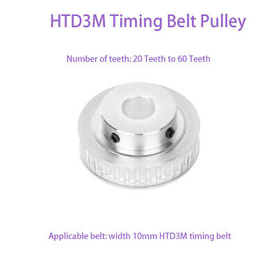 AU12.40 • Buy 3M Timing Belt Pulley 20 To 60 Tooth BF-type For 10mm Belt CNC / Step Motor