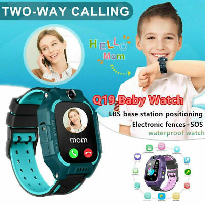 AU15.70 • Buy Android IOS Anti-lost Kids Smart Watch LBS Tracker SOS Call GSM SIM Child Gifts