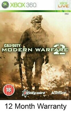 £6.49 • Buy Call Of Duty Modern Warfare 2 MW2  Xbox 360 MINT SAME DAY DISPATCH FAST DELIVERY