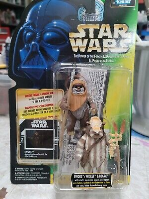 $ CDN20 • Buy Star Wars-The Power Of The Force-Ewoks Wicket/Logray, Original Package