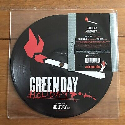 Green Day - Holiday   7   Picture Disc  Vinyl • 17.95£