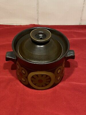 1960's Retro Denby Soup Casserole Stew Dish With Lid Perfect • 8.99£