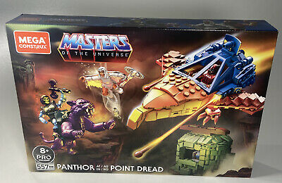 $35.95 • Buy MEGA Construx Masters Of The Universe Panthor At Point Dread Action Figure GPH24