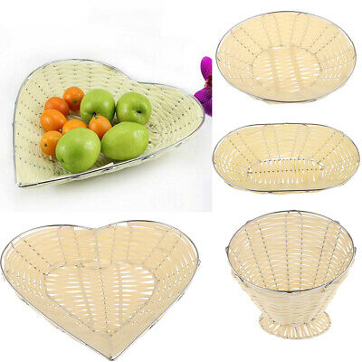 £4.20 • Buy Food Serving Baskets Hand Woven For Fries Burgers Sandwiches