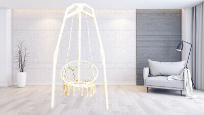 Base Stand For Hanging Chair Hammock Swing Seat Egg Macrame Chair  • 88£