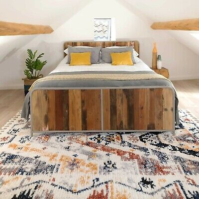 £79.95 • Buy Tribal Rugs With Tassels Multicolour Aztec Carpet Runner Rug Giant & Small Sizes