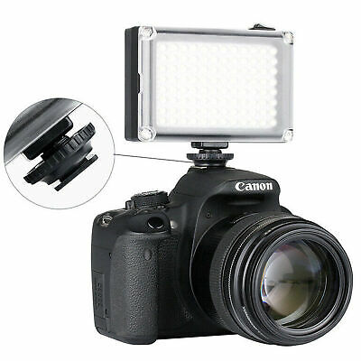 Universal LED Studio Video Light Panel Fill Lamp For DSLR Camera Camcorder • 12.41£