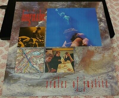 Living In A Box – Scales Of Justice: Vinyl 12  Single. Chrysalis. UK, 1987. VG • 6£