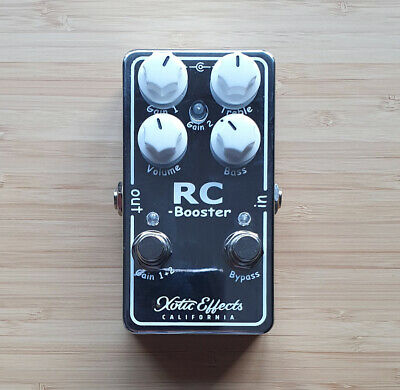 Xotic RC Booster V2 Pedal • 121£