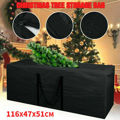 Heavy Duty Artificial Christmas Tree Home Storage Bag Zip UP Sack HolderSFM • 7.46£